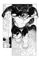 Totally Awesome Hulk #1, Page 17, Comic Art