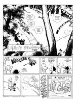 Liberty Meadows Meets Calvin & Hobbes, Comic Art