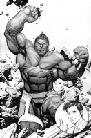 Hulk #1 Cover, Comic Art