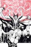 Avengers 29 Cover - Original Sin, Comic Art