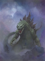Godzilla - Big Wow Comic Fest Cover, Comic Art