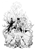 Judge Anderson and the Dark Judges, Comic Art