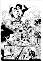M.Avengers 24 page 8 Sandoval ON SALE Comic Art
