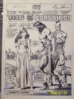 Conan #88 Pg 1 Splash Comic Art