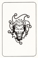 Bart Sears Joker card from LOTDK #200 Comic Art
