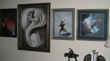 Framed(left) Comic Art