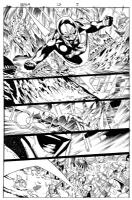 nova # 13 page 7 Comic Art