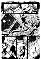 nova annual # 1 page 6 Comic Art