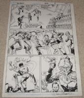 batman # 409 page 3 Comic Art