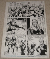 batman # 409 page 4 Comic Art