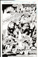 fantastic four unlimited #4 p.55 Comic Art