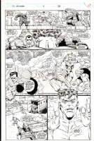 fantastic four unlimited #4 page 31 Comic Art