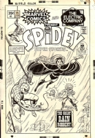 Spidey Super Stories #15 cover (1975) ON HOLD Comic Art