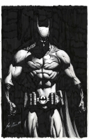 Batman by Scott Clark  Comic Art