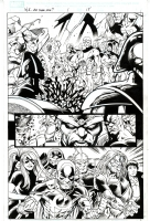 War of Kings Who Will Rule page 15 Paul Pelletier Comic Art