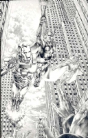 Jay Anacleto  Marvels 2 Eye of the Camera Cover issue 4, Comic Art
