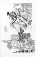 Lara Croft by Jay Anacleto  Comic Art