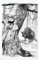 Red Riding Hood by Jay Anacleto - One spot left for SDCC commission List  Comic Art