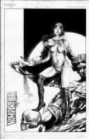Jay Anacleto Vampirella Pin Up  Comic Art