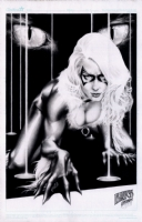 Black Cat by Jay Anacleto accepting offers until September 15, 5:00 pm PST  Comic Art