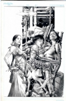 Jay Anacleto Private Commission  Comic Art