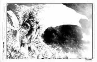 Jay Anacleto Dark Phoenix Pin Up #2 Comic Art