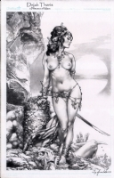 Dejah Thoris Princess of Mars by Jay Anacleto (warning Nudity)  Comic Art