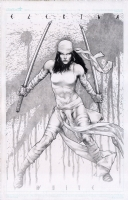 Elektra White by Jay Anacleto  Comic Art