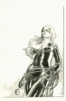 Black Cat by Jay Anacelto (Convention Commission Sample) Comic Art