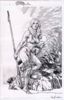 Shanna the She-Devil by Jay Anacleto  Comic Art