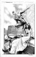 Spiderman and MJ by Jay Anacleto  Comic Art