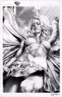 Supergirl by Jay Anacleto  Comic Art