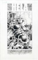 Hela by Jay Anacleto  Comic Art