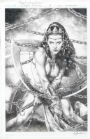 Dejah Thoris Warlord of Mars cover issue 34 by Jay Anacleto  Comic Art