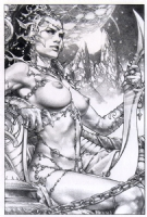 ECCC 2014 Dejah Thoris by Jay Anacleto Comic Art