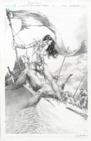 Dejah Thoris The Green Men of Mars cover issue 11 by Jay Anacleto  Comic Art