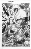 Blood Queen issue 3 cover by Jay Anacleto  Comic Art