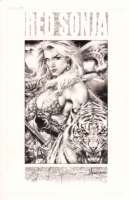 Red Sonja by Jay Anacleto  Comic Art