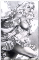 NYCC 2013 Supergirl by Jay Anacleto Comic Art