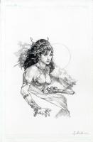 Dejah Thoris Bust by Jay Anacleto  Comic Art