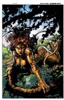 Philip Tan Print ' Tigra'  Comic Art