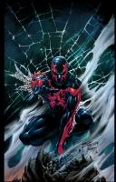 Philip Tan Print ' Spiderman 2099' Vert.  Comic Art