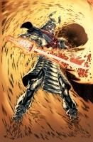 Philip Tan Print Silver Samurai  Comic Art