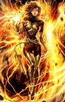 Philip Tan Print 'Dark Phoenix '  Comic Art