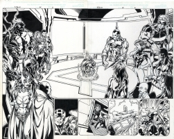 Thunderbolts 44 pages 2 and 3 Mark Bagley Comic Art
