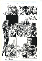 Black Widow via Thunderbolts issue 43 page 6 by Mark Bagley  Comic Art