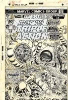 Marvel Triple Action 21 Ron Wilson inked by Frank Giacoia Comic Art