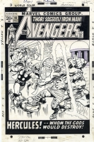 Avengers 99 cover by Barry Windsor Smith and John Buscema  Comic Art