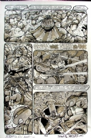 Teenage Mutant Ninja Turtles #32 pg.40 (Mark Bode/Kevin Eastman/Eric Talbot) Comic Art