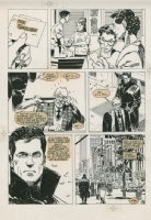 Punisher page Comic Art